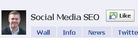 facebook fan page like button image