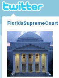 florida supreme court twitter profile