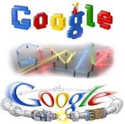 google doodles custom logo