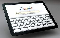 google ipad default search engine