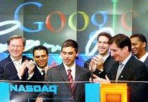 google stock market price