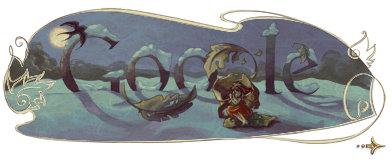 hans christian andersen google logo 3