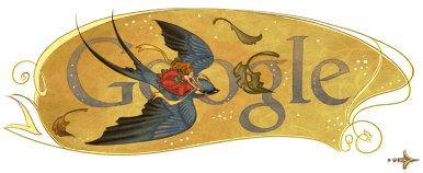 hans christian andersen google logo 41