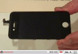 iphone 4g screen video