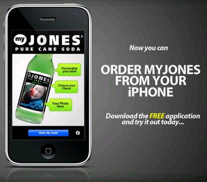 jones soda iphone app