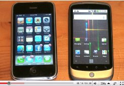 nexus one iphone video
