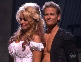 pamela anderson dancing with the stars