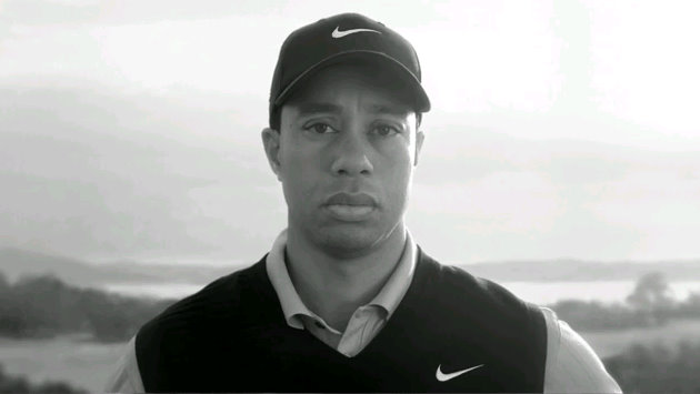 tiger woods logo tw. Tiger Woods Nike Commercial