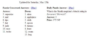 neopets dailies may update