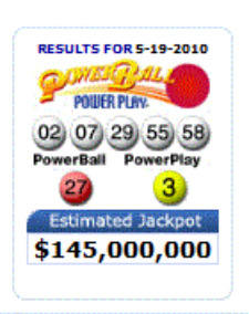 Powerball Winning Numbers: Jackpot Climbs to $145 Million : Social ...
