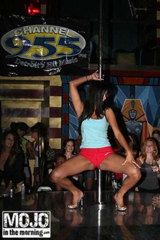 Rima Fakih pole dancing
