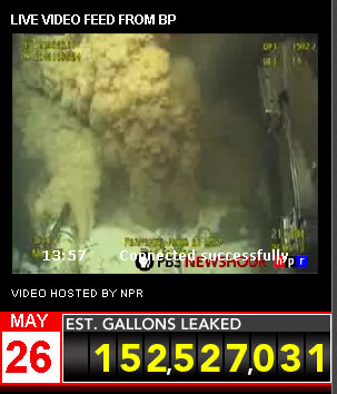 bp live oil spill