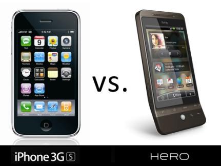 htc vs iphone ipad