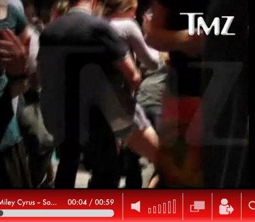 miley cyrus lap top dance video
