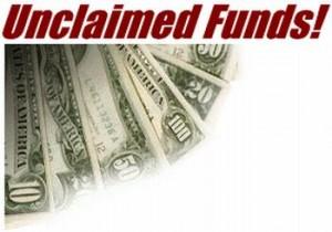 missing money unclaimed