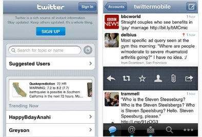 official twitter app iphone