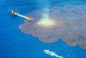 oil spill live video feed