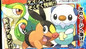 pokemon BW starters
