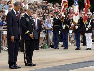 president obama memorial day