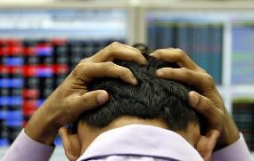 stock market down again