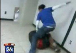 teacher beats student