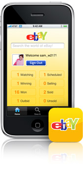 ebay iphone app
