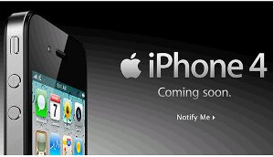 iphone 4 pre order time