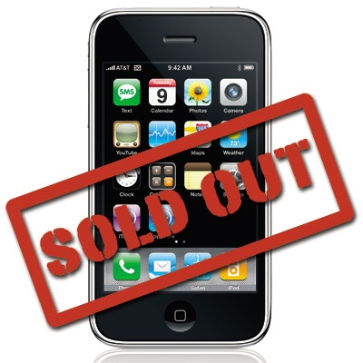 iphone 4 sold out