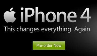 pre order iphone 4 att