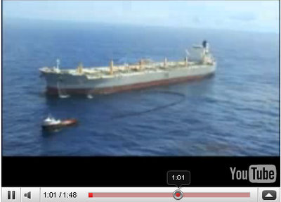 a whale oil skimmer vessel ship