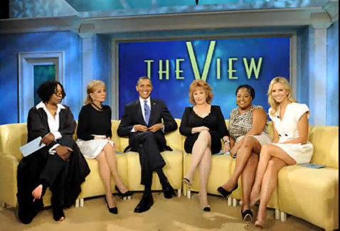 barack obama the view