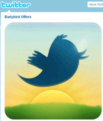 earlybird twitter profile