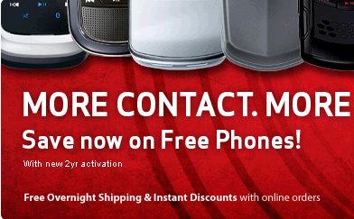 free verizon mobile phones