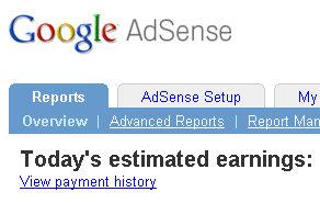 google adsense reports