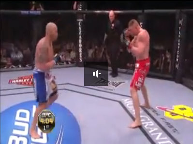 lesnar carwin ufc 116 fight video