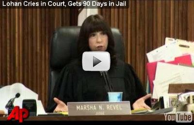 lindsay lohan court video