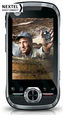 motorola i1 android nextel phone