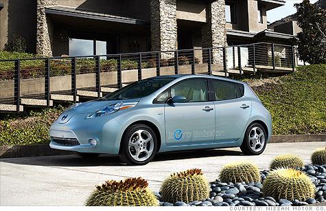 nissan leaf enterprise car rental