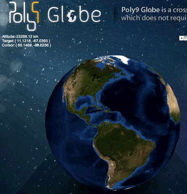 poly9 mapping globe