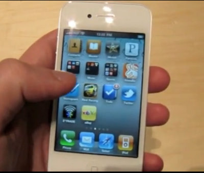 white iphone 4 pictures. White iPhone 4 – A Lesson in
