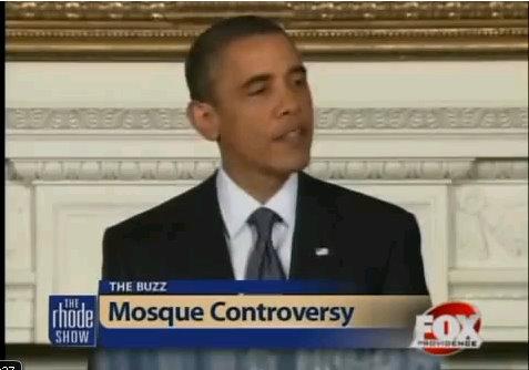 barack obama mosque controversy