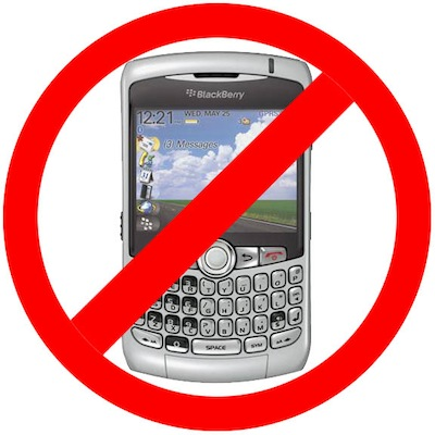 blackberry banned india