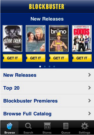 blockbuster android app