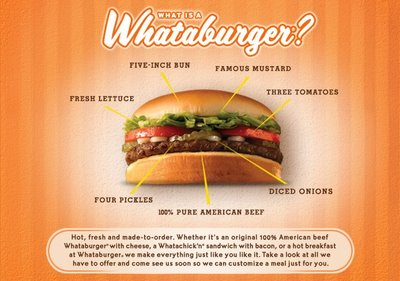 free whataburger