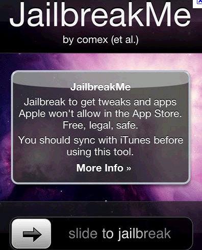 iphone jailbreak warning