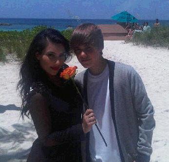 kim kardashian justin bieber beach photoshoot pictures 1