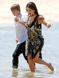 kim kardashian justin bieber beach photoshoot pictures 4
