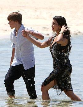 kim kardashian justin bieber beach photoshoot pictures 5