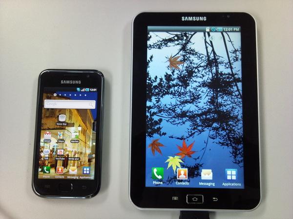 samsung galaxy tab tablet screen resolution
