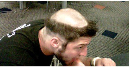 tim tebow haircut picture image